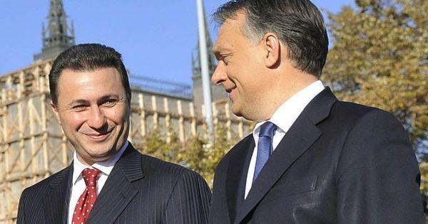 Hasonló lehallgatási botrányba bukott bele Orbán macedón barátja, Nikola Gruevski