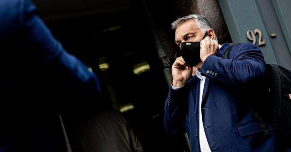 Beoltották Orbán Viktort – fotó
